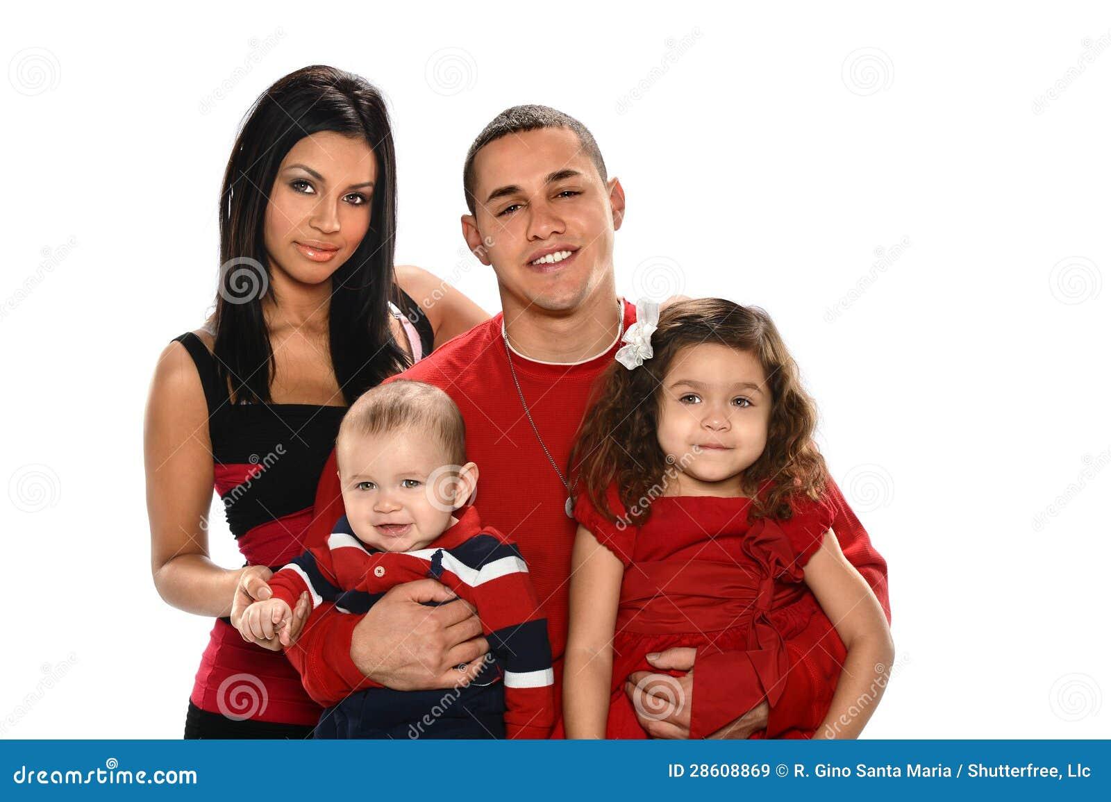 Hispanic Family Royalty Free Stock Images Image 28608869