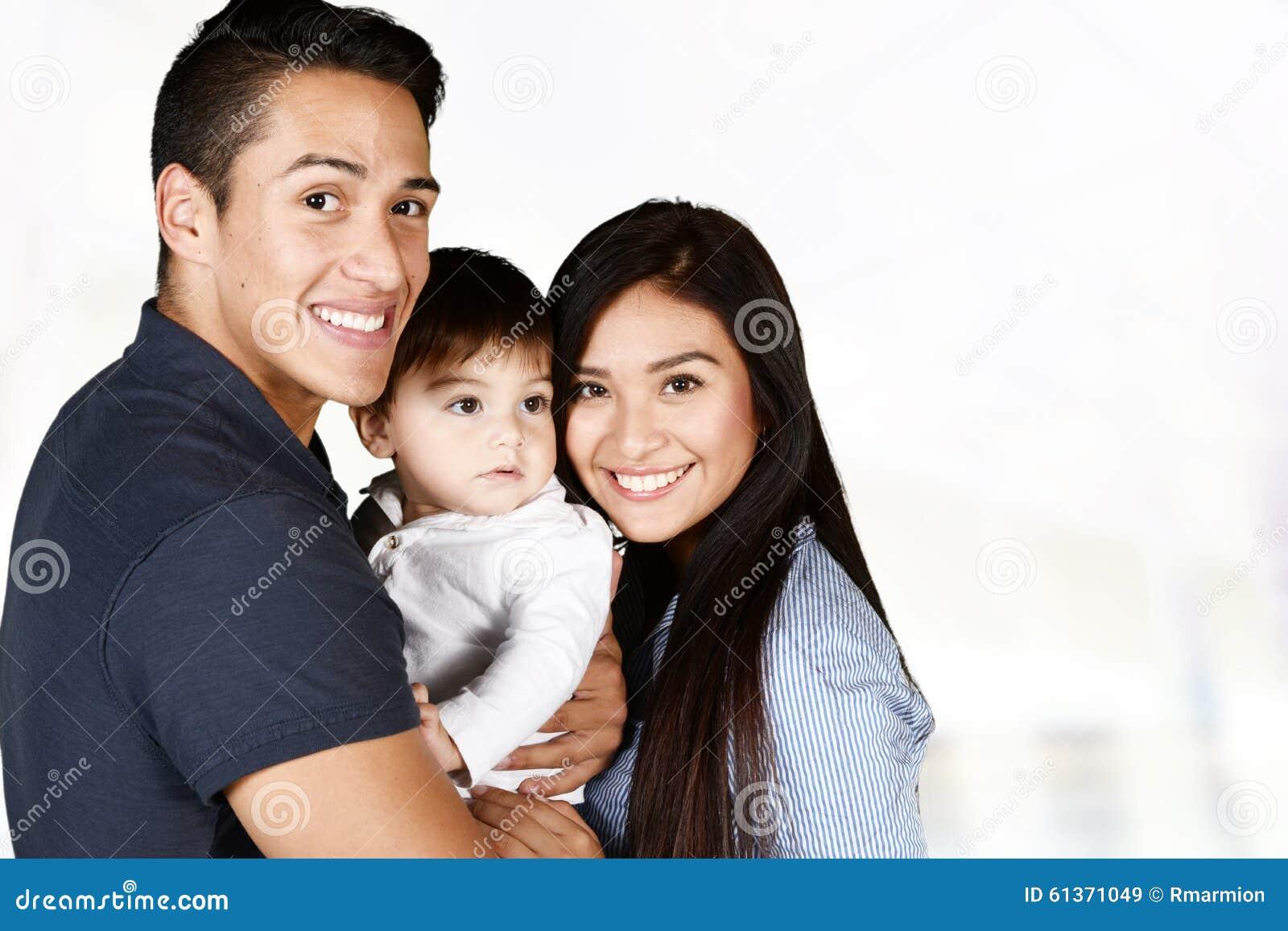 Hispanic family together stock photo image 61371049