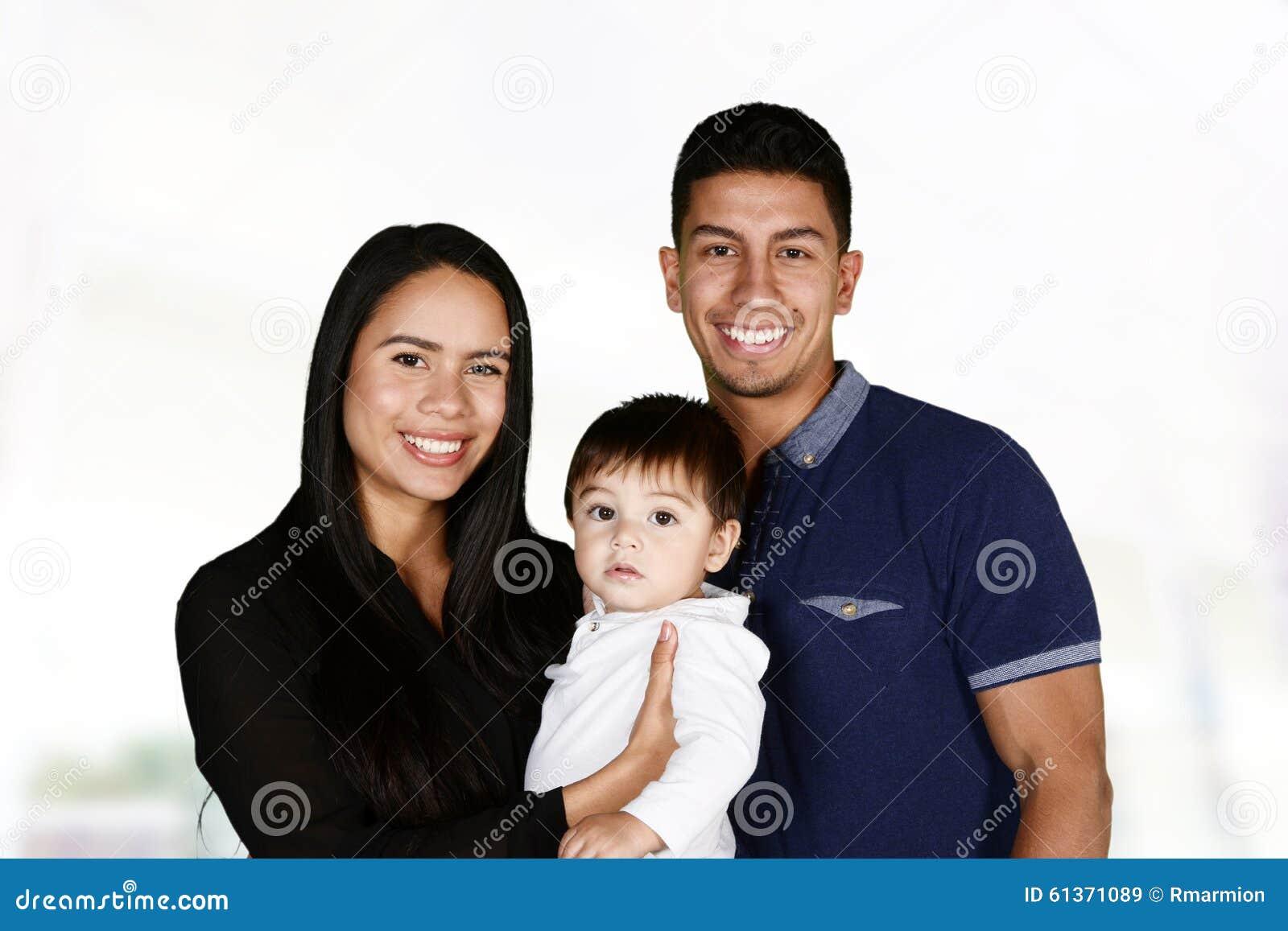 Hispanic family together stock photo image 61371089