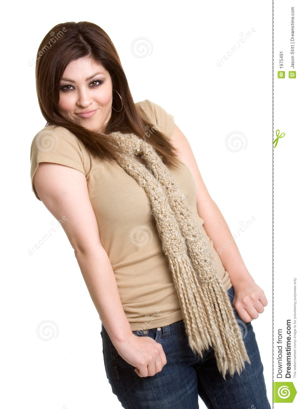 Hispanic Girl Stock Image - Image: 1975491