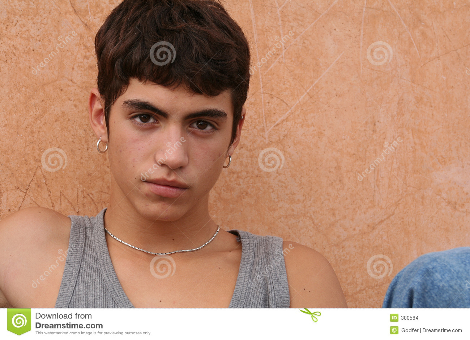 Cute Hispanic Teen 17