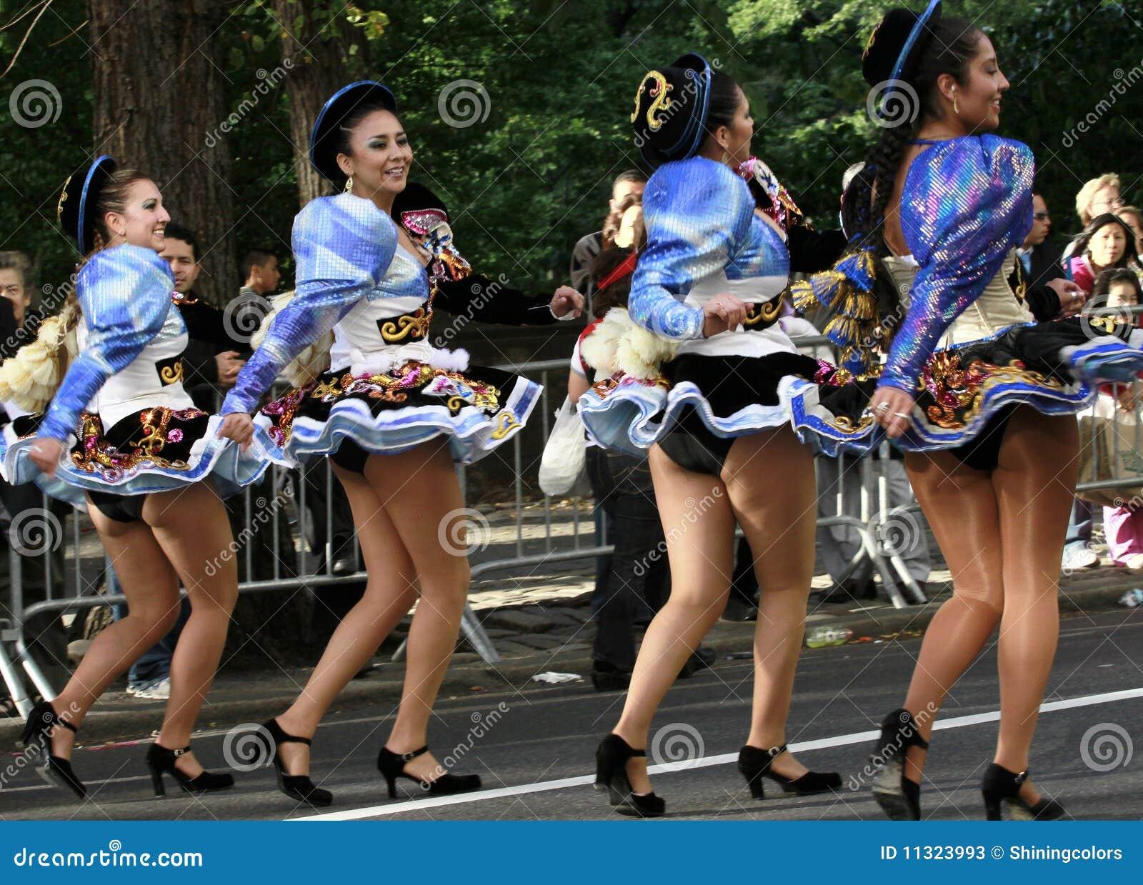 Hispanische Tagesparade in New York