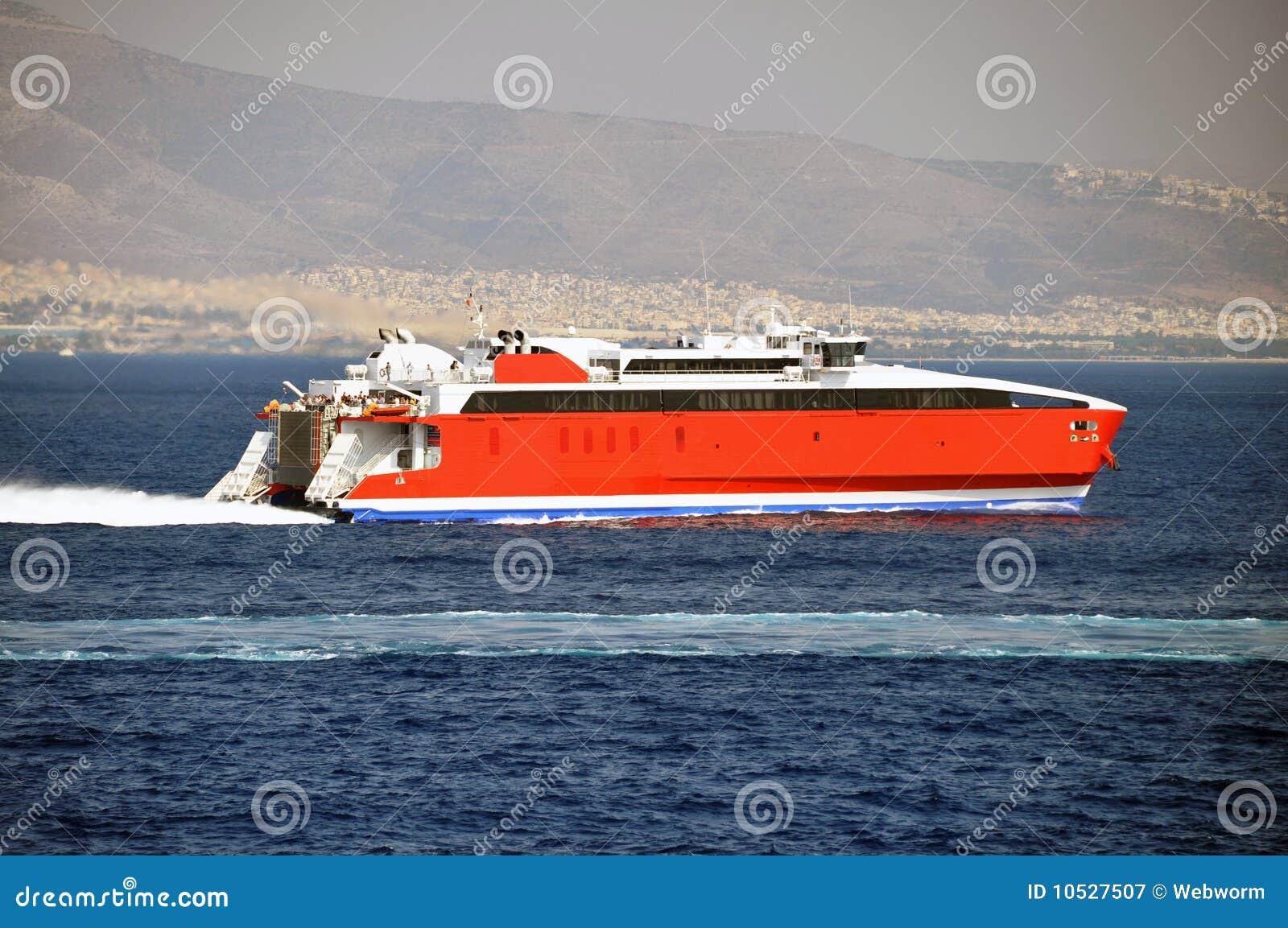 Hispeed ship