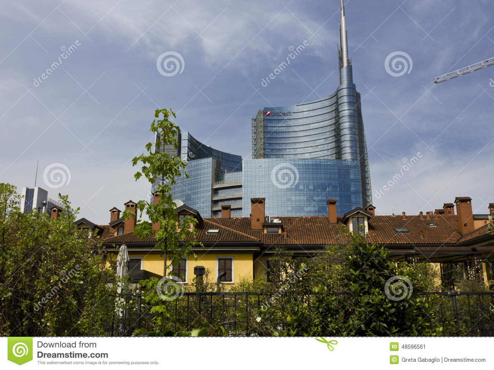 História e modernidade de Milan Between