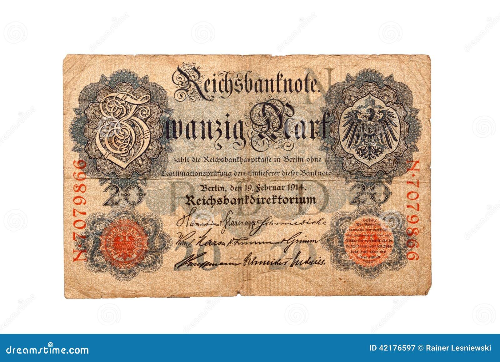 billet de banque marque