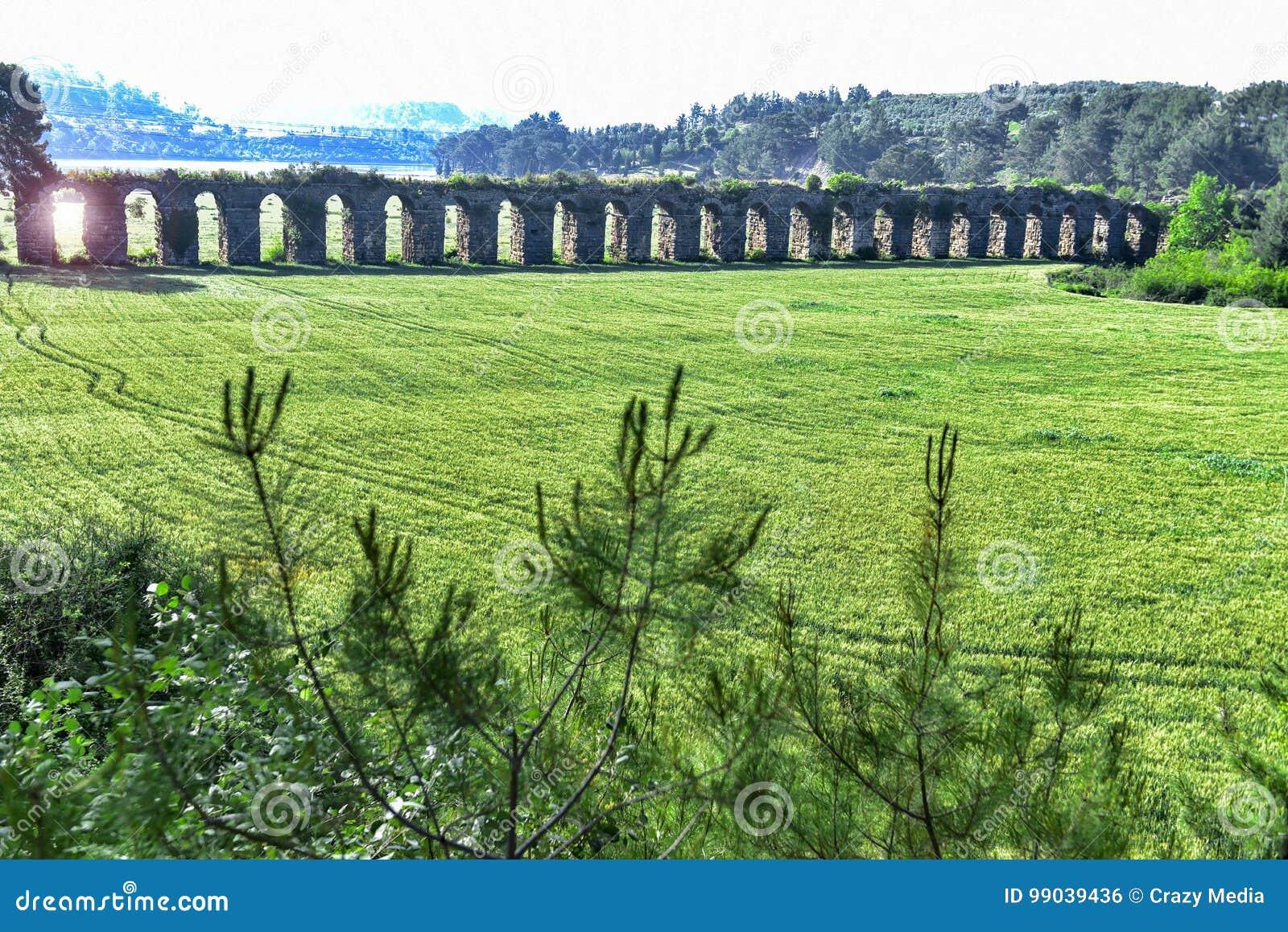 Histoire des aqueducs antiques