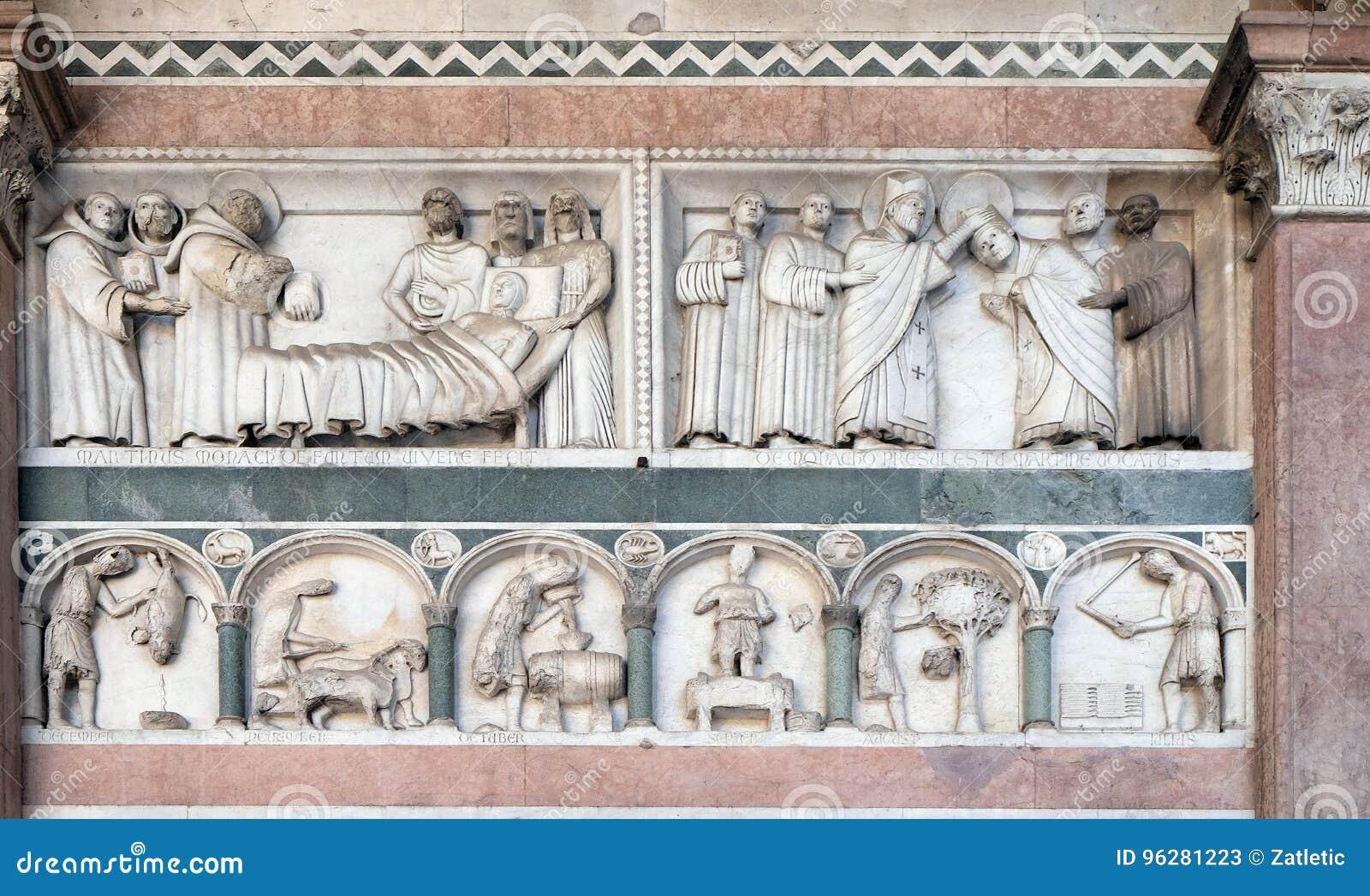 Histoires de St Martin et du travail des mois de l année