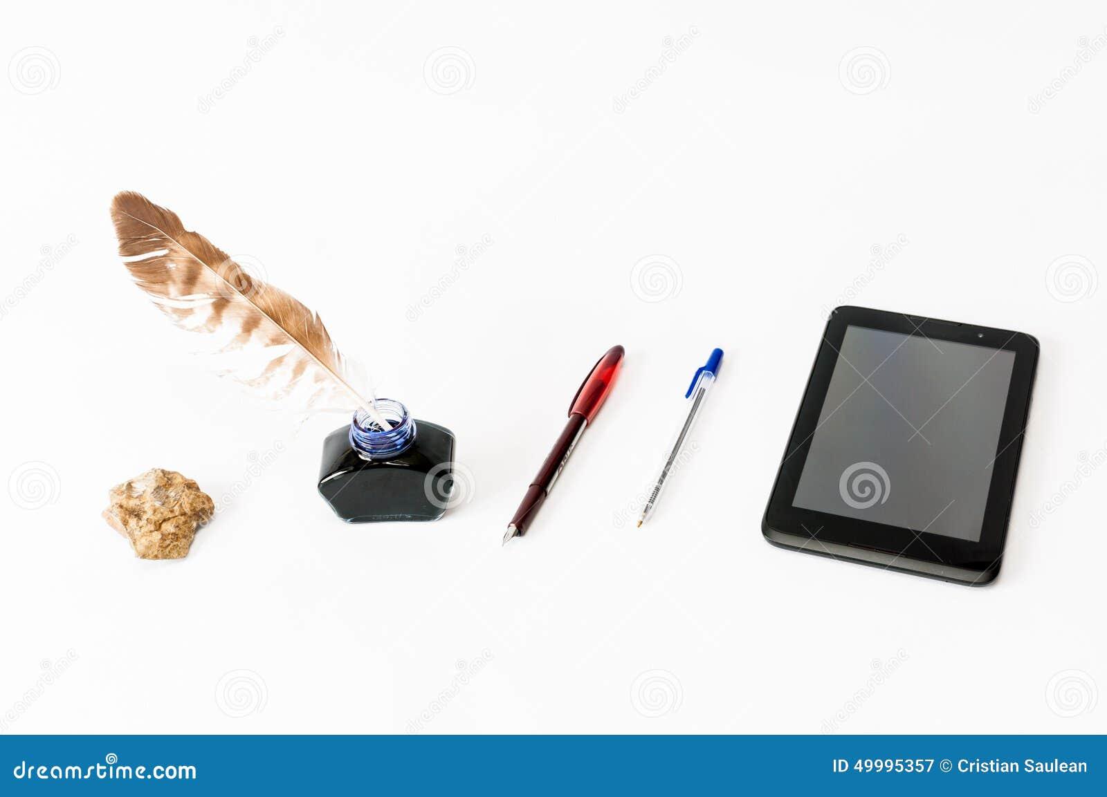 Historia av handstil