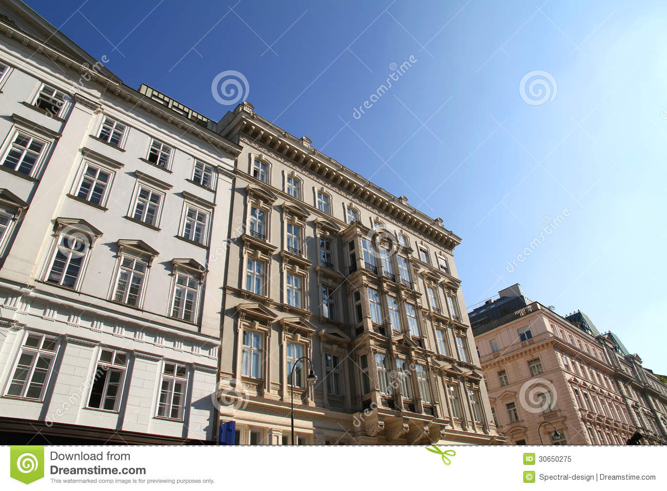 Historic architecture in the center of vienna royalty free for Architecture vienne