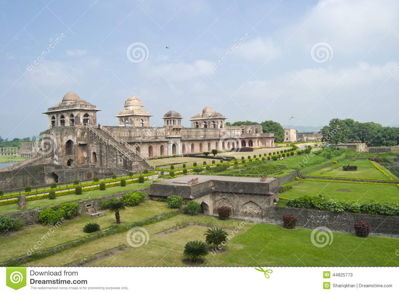 Download Historic Architecture India Stock Image - Image of ghiyasuddin, palace: 44825773