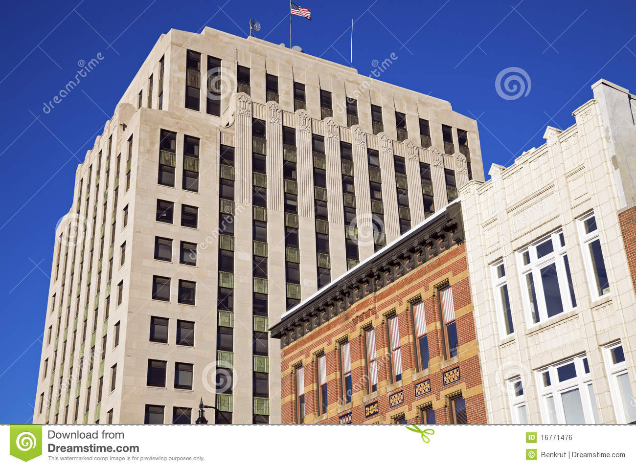 Historic Architecture Of Springfield Royalty Free Stock