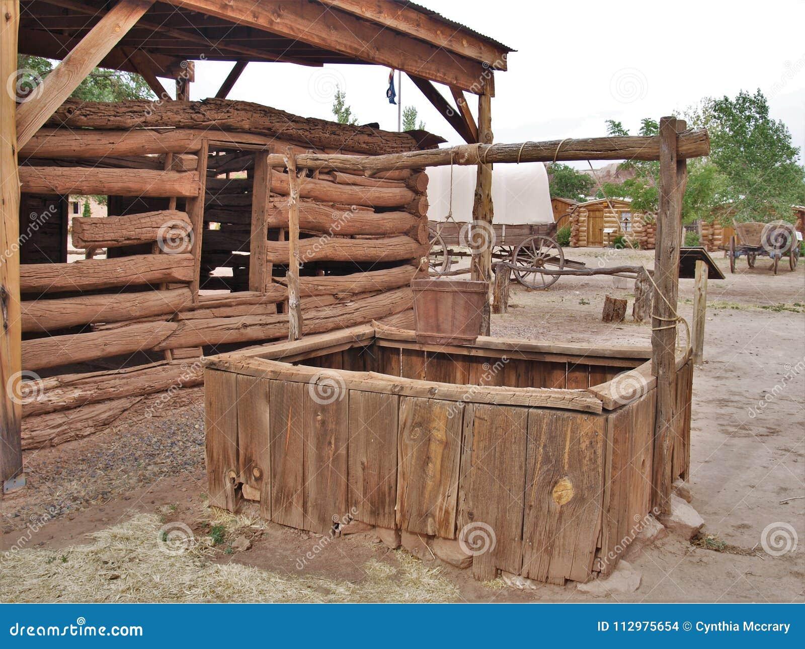 Bluff Fort Historic Site in Bluff, Utah