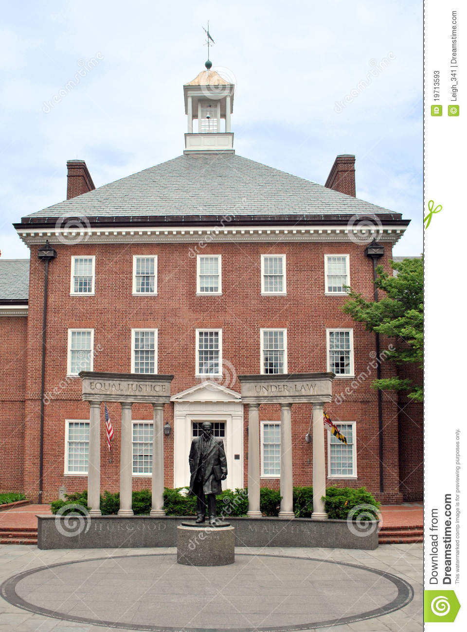 Historic Building In Annapolis Maryland Stock Photos