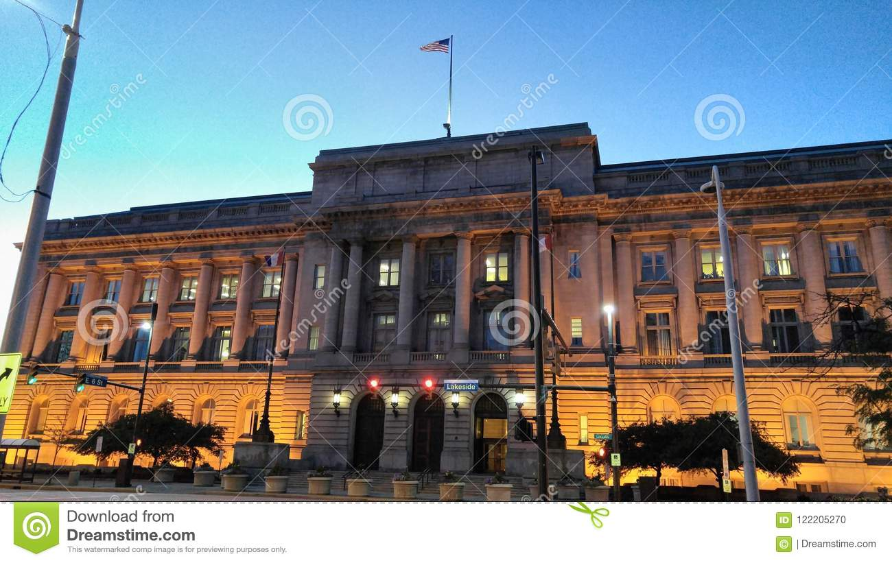 Historic Building in Downtown Cleveland Ohio
