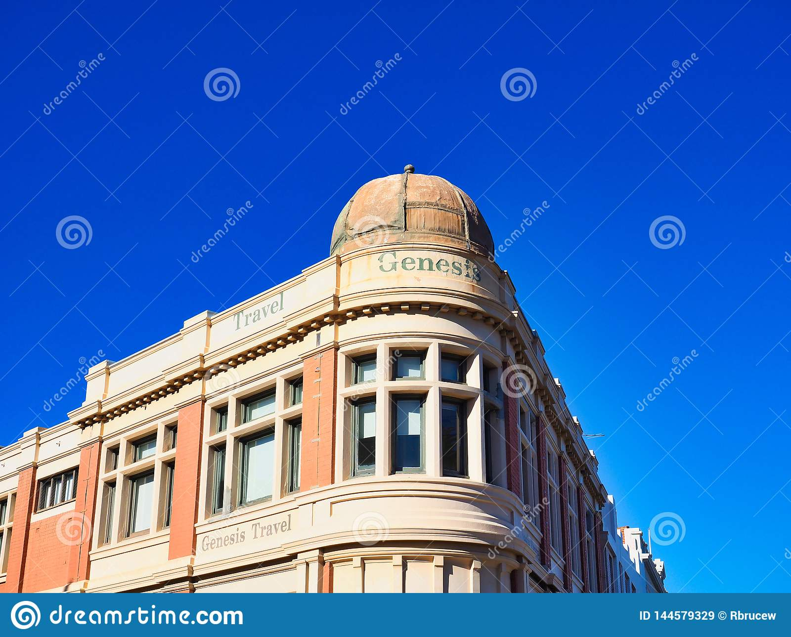 Historic Travel Company Building, Fremantle, Western Australia