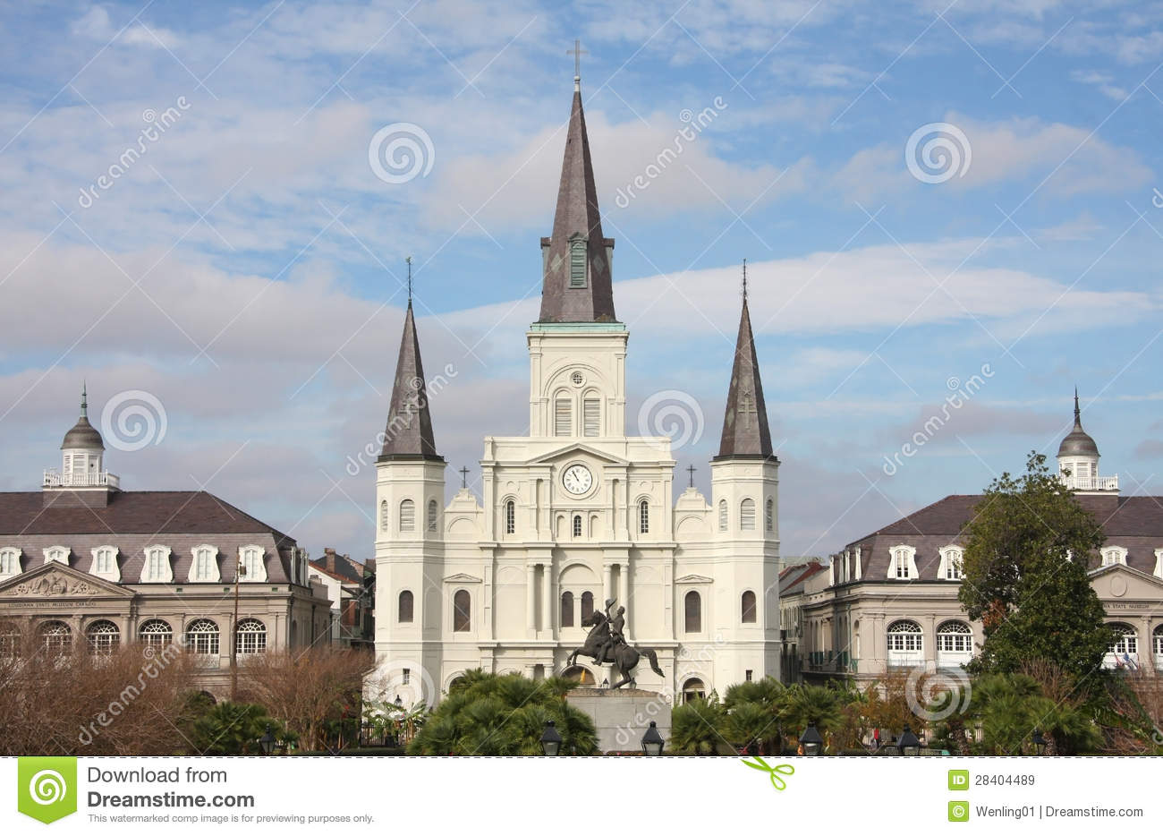historic building in new orleans stock image image of orleans