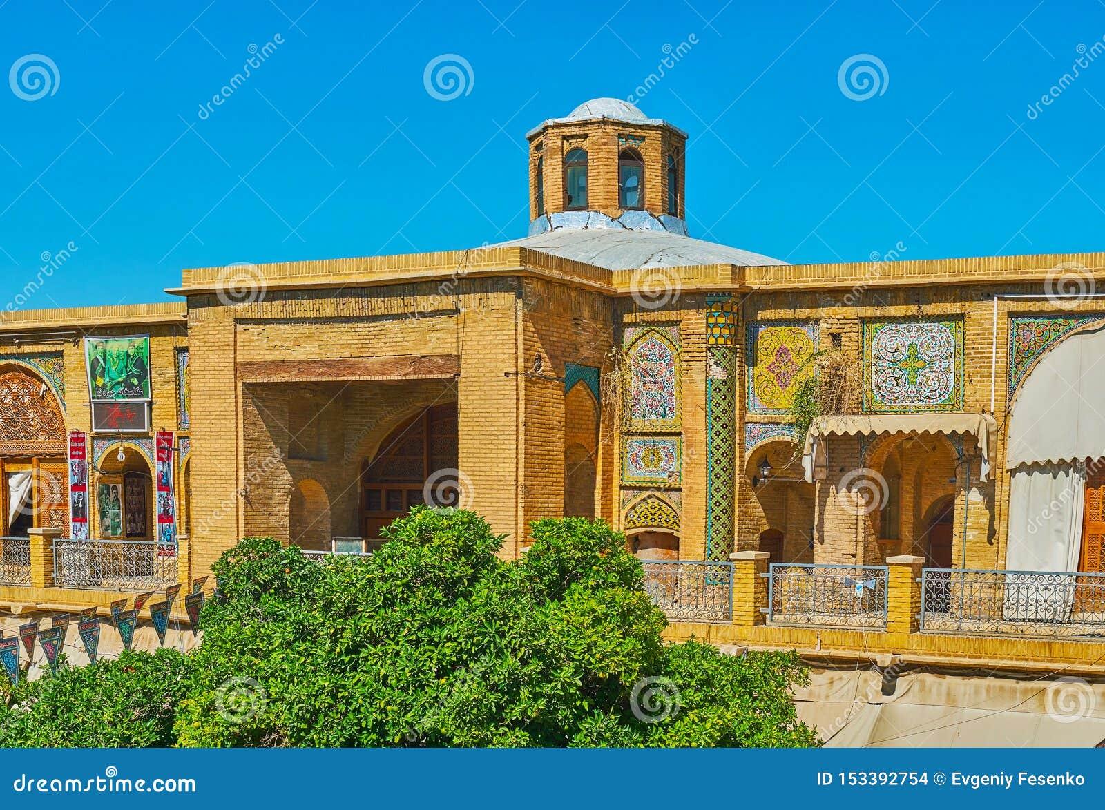 Historic building of Saraye Moshir Bazaar, Shiraz, Iran