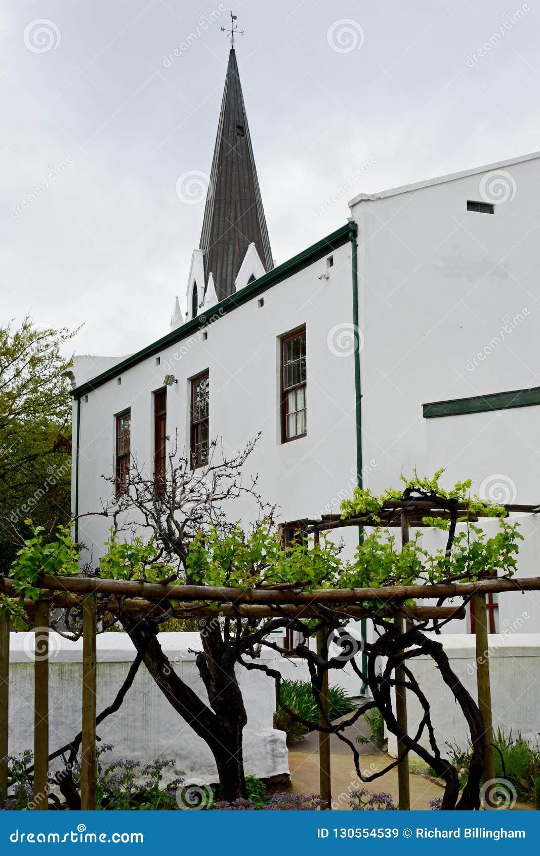 Historic Building, Stellenbosch, South Africa