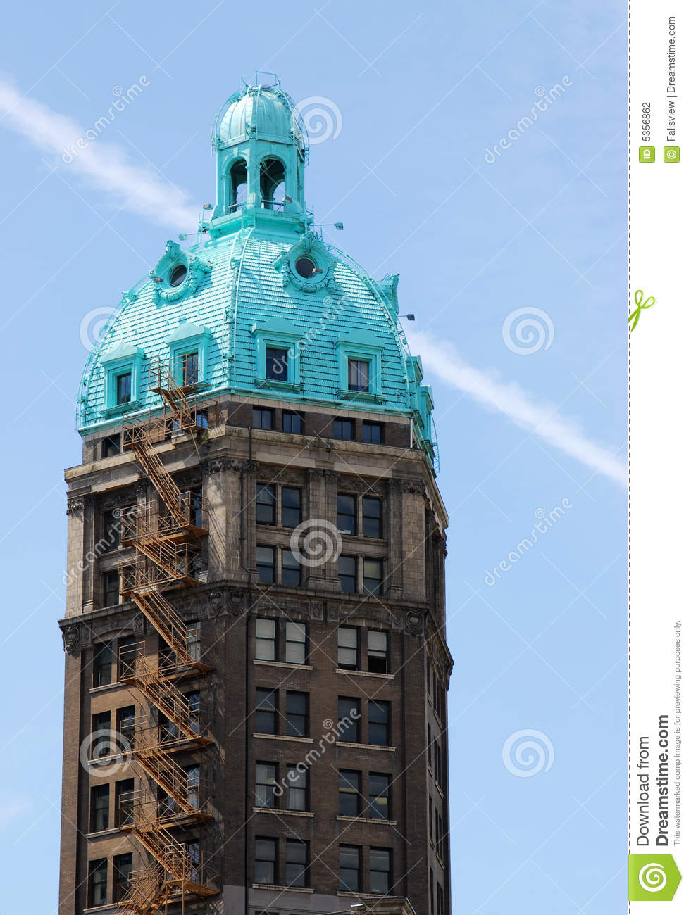 Historic Building In Vancouver Stock Photo Image Of