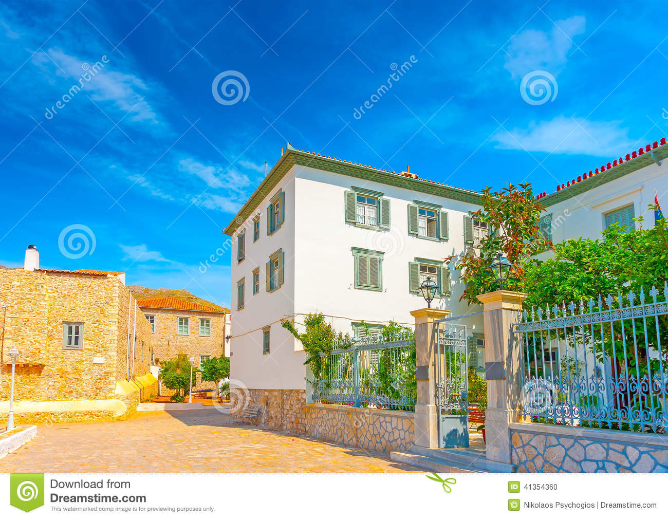 Historic Buildings Stock Photo Image 41354360