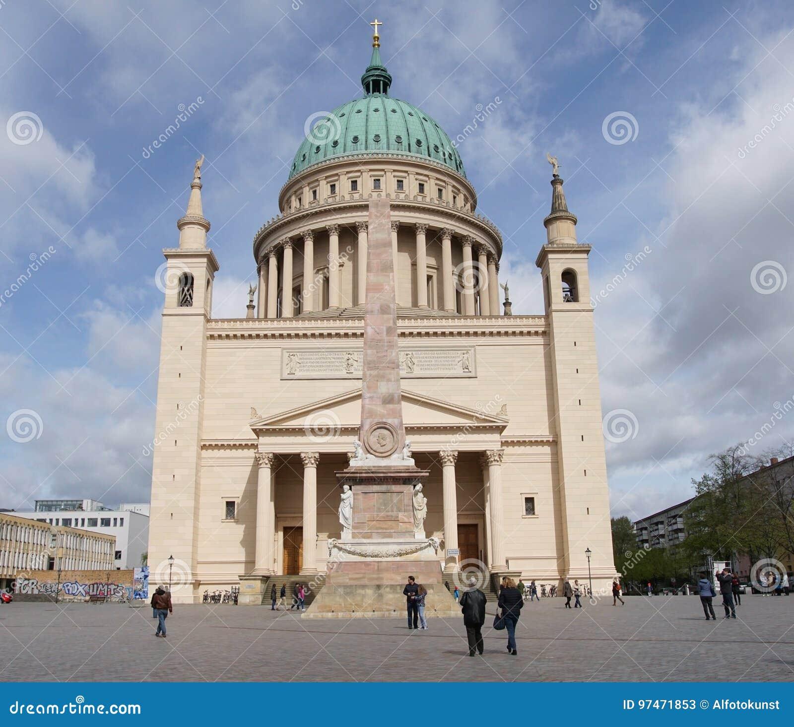 Historic Buildings Of Potsdam Germany Europe Editorial Stock Photo