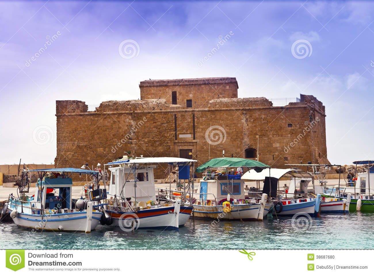 Baju kahwin muslimah www imgarcade com online image arcade - Historic Castle In Paphos Cyprus Stock Photo Image Wallpaper Gallery Castle Clipart Clipart