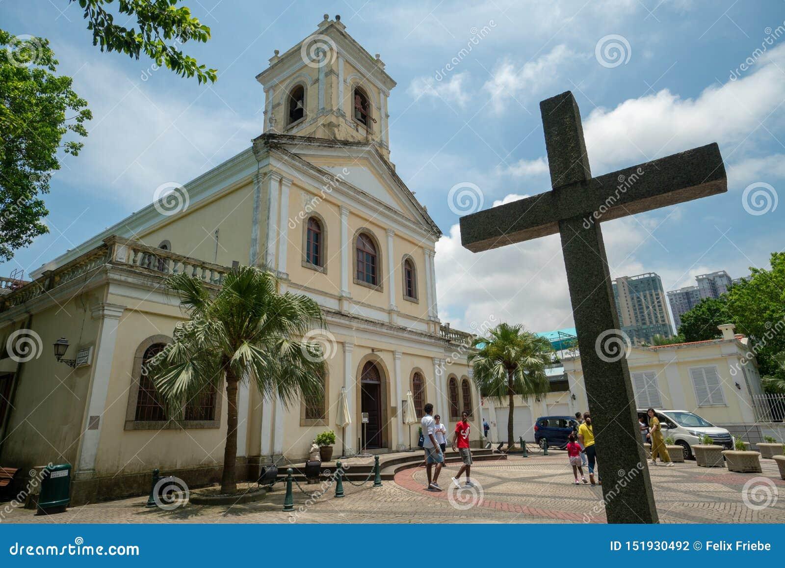Church in Macau, PR China