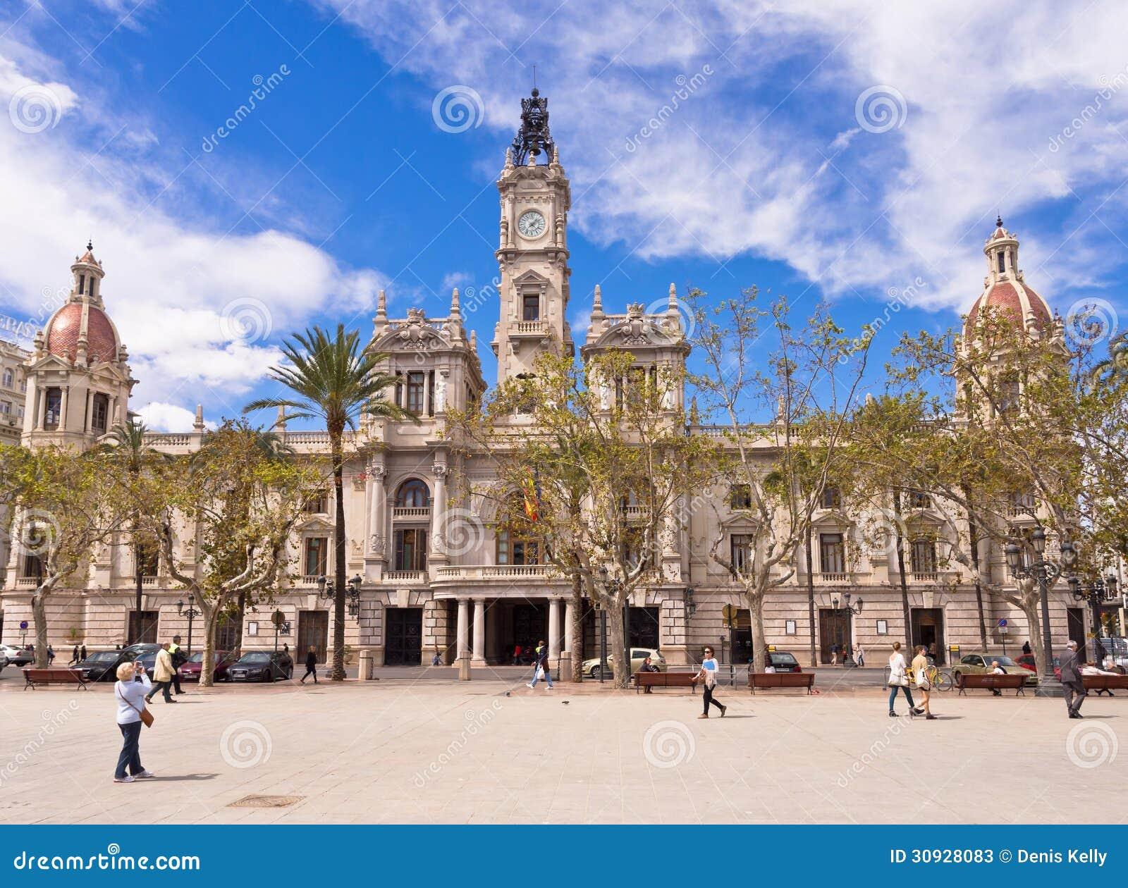 City Hall in Valencia, Spain