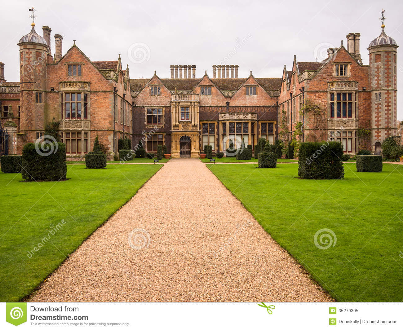 Charlecote Country England Historic Home House Park
