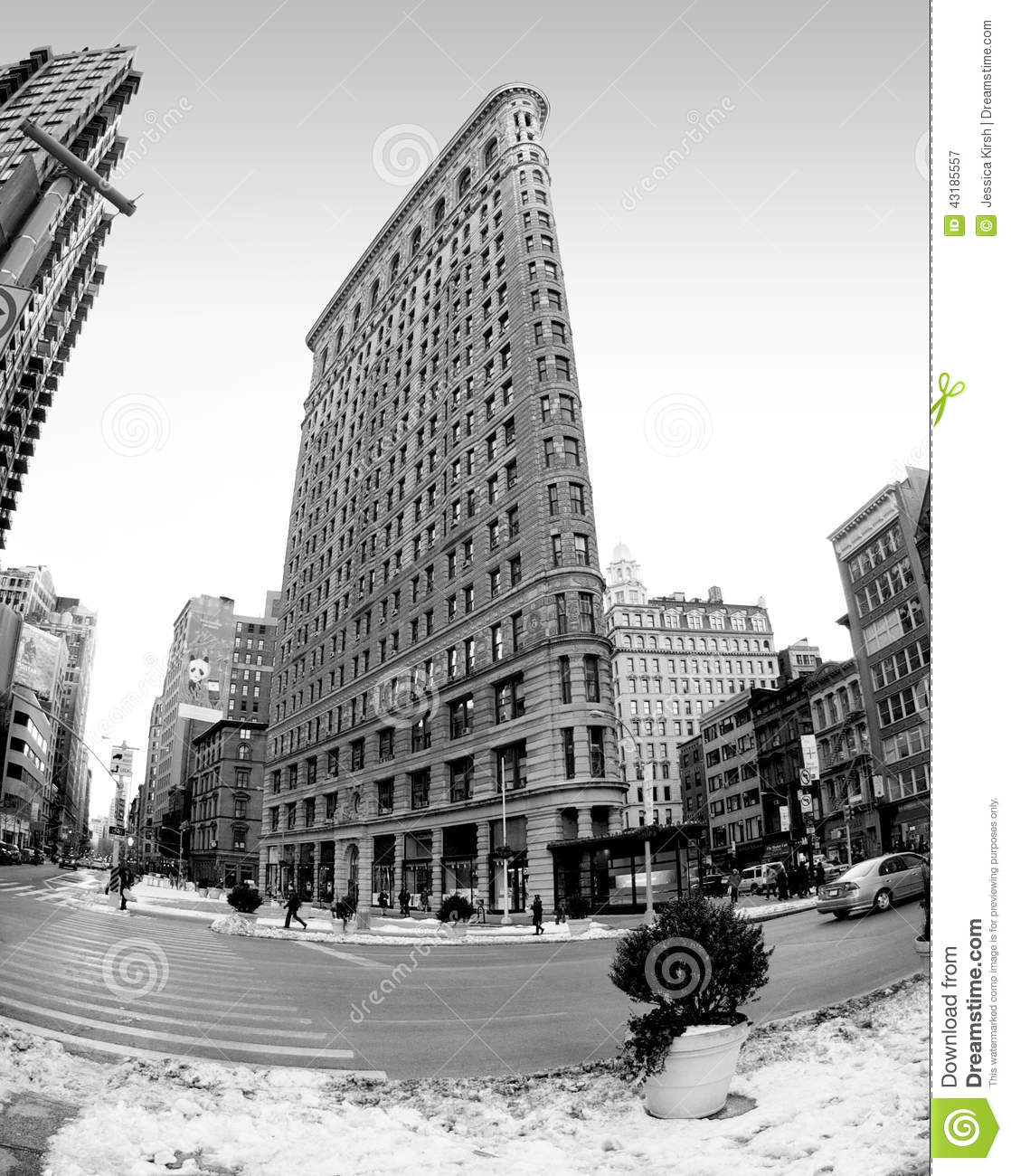 Flat Nyc: The Historic Flat Iron Building In New York City, New York