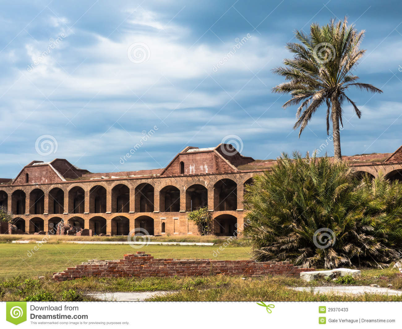 Historic Fort Jefferson in the Dry Tortugas