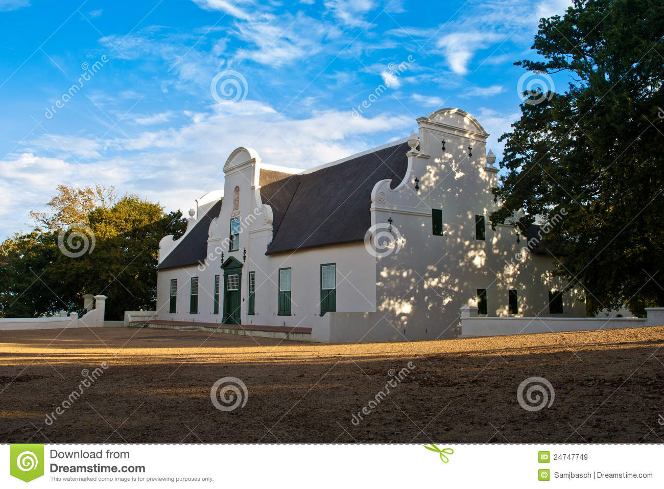 Historic homestead in south africa royalty free stock for Free homestead