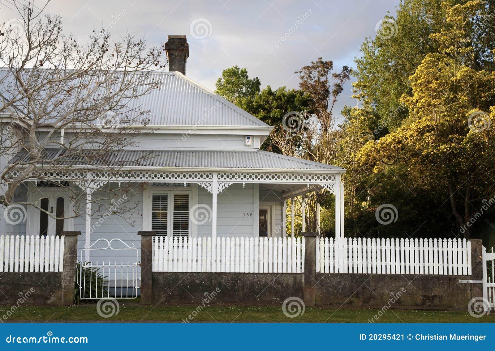 Historic House In Coromandel Stock Image Image Of Island