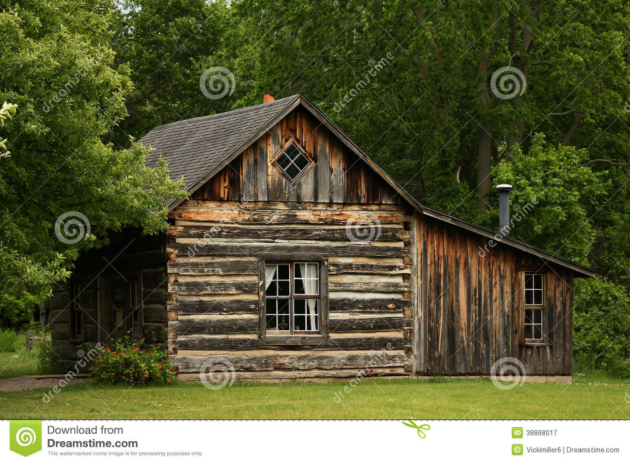Historic log building stock image image of homestead for Free homestead