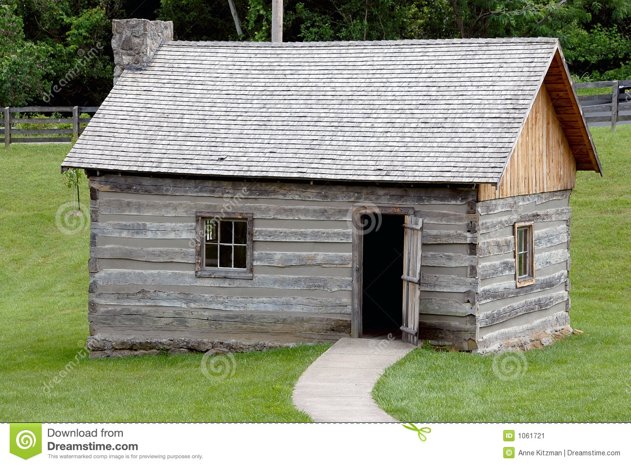 Historic log cabin royalty free stock photo for Free log cabin