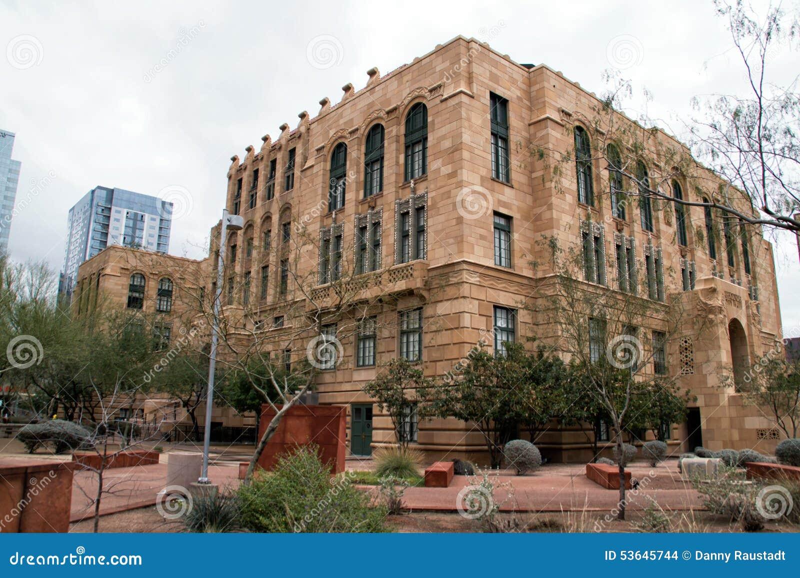 Historic maricopa county courthouse in phoenix arizona for Classic house phoenix