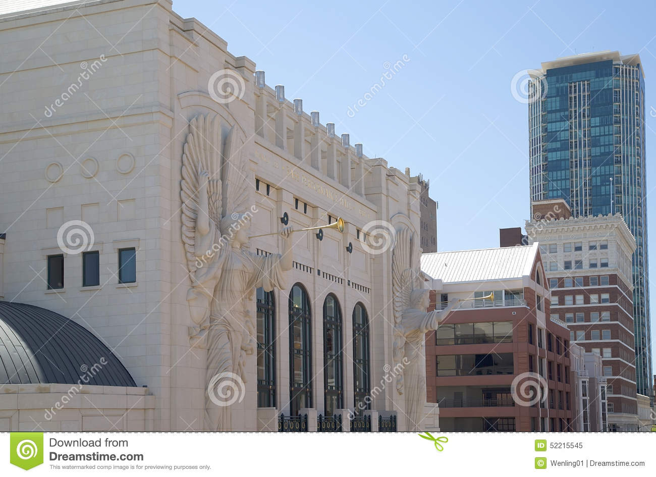 Historic and modern buildings in Fort Worth