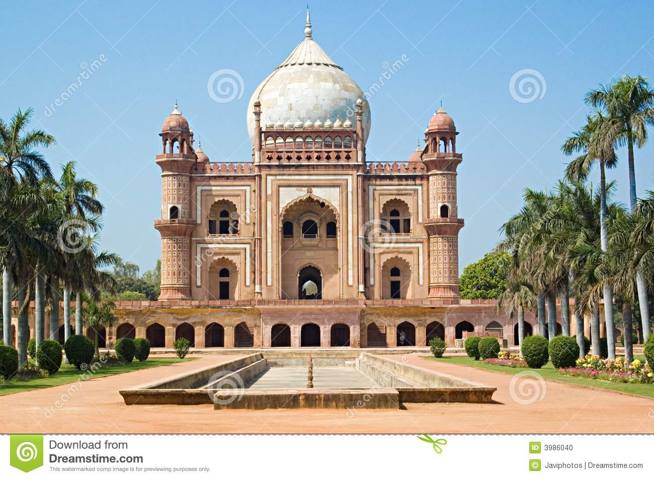 Stock Photo Historic Mughal Architecture Image3986040