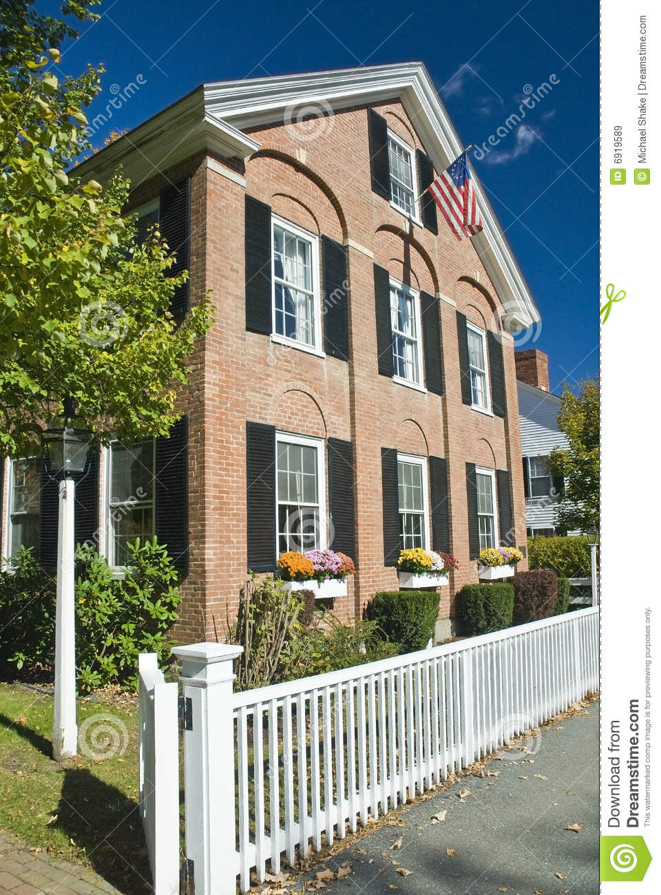 Historic old american home royalty free stock images for Old american houses