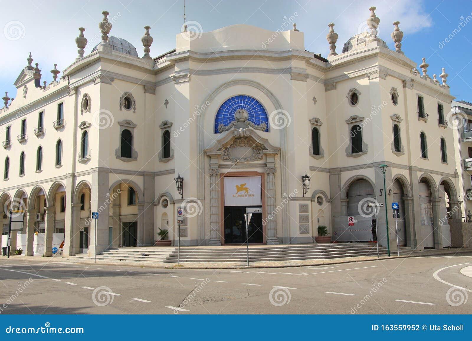 The Historic Palazzo Del Cinema On The Island Lido Di ...