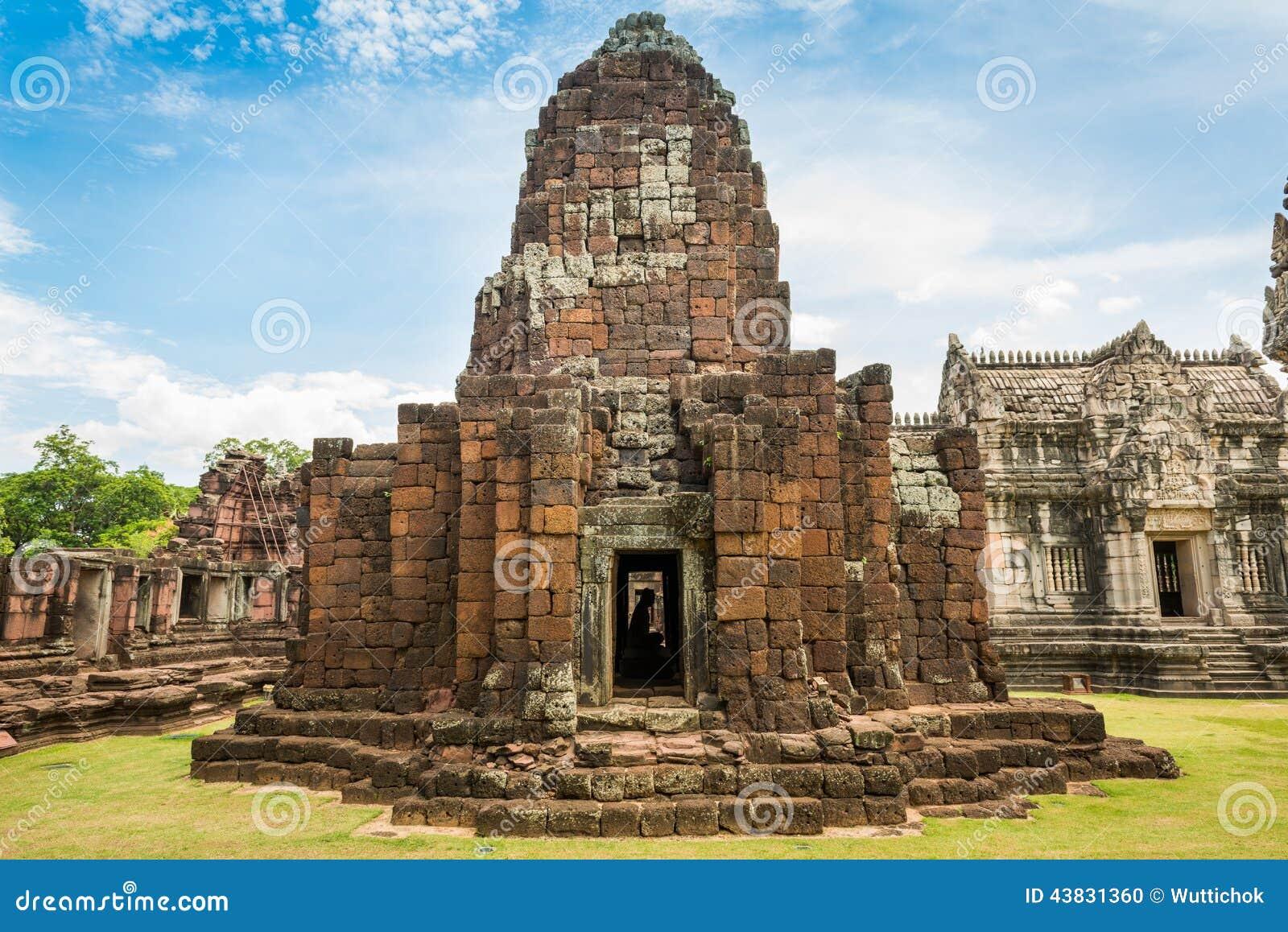 Historic Prasat Hin Phimai Castle At Nakhon Ratchasima ...