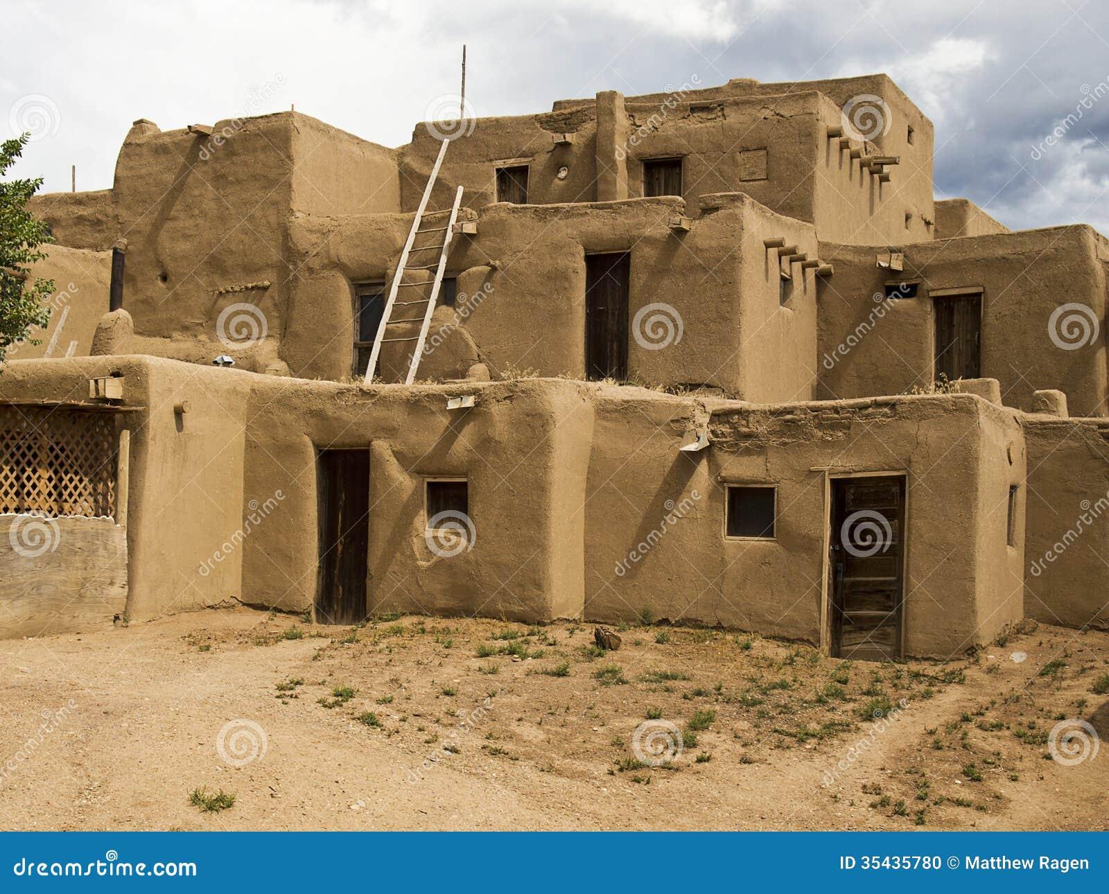 Historic pueblo building editorial image image 35435780 for Pueblo home builders