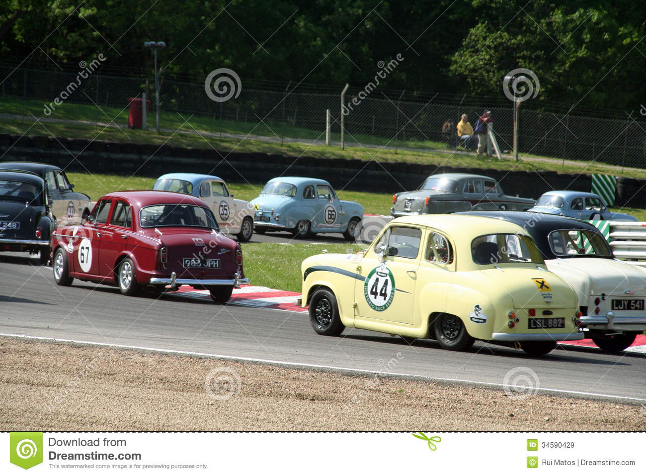 Historic Race Cars editorial stock image. Image of circuit - 34590429