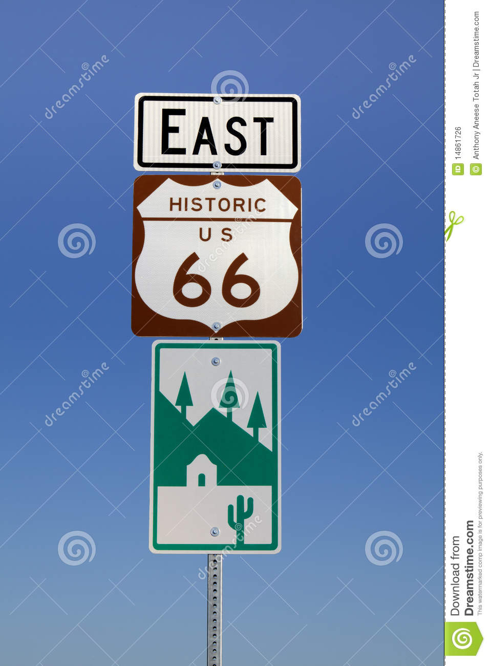 Historic Route 66 Signs