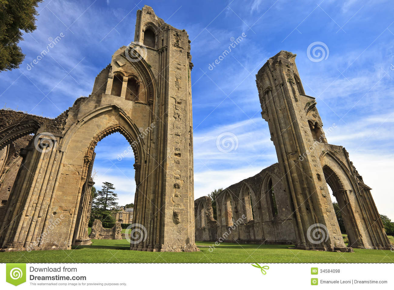 Glastonbury United Kingdom  city photo : ... ruins of Glastonbury Abbey in Somerset, England, United Kingdom UK
