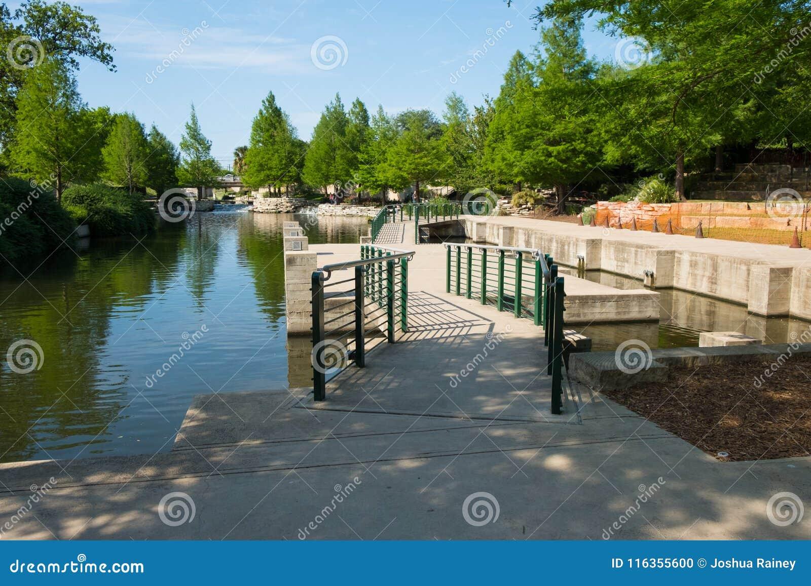 Historic San Antonio River Walk Stock Photo Image Of