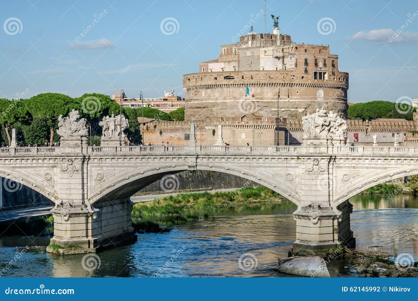 Historic Sights Of Building Architecture Castel Sant