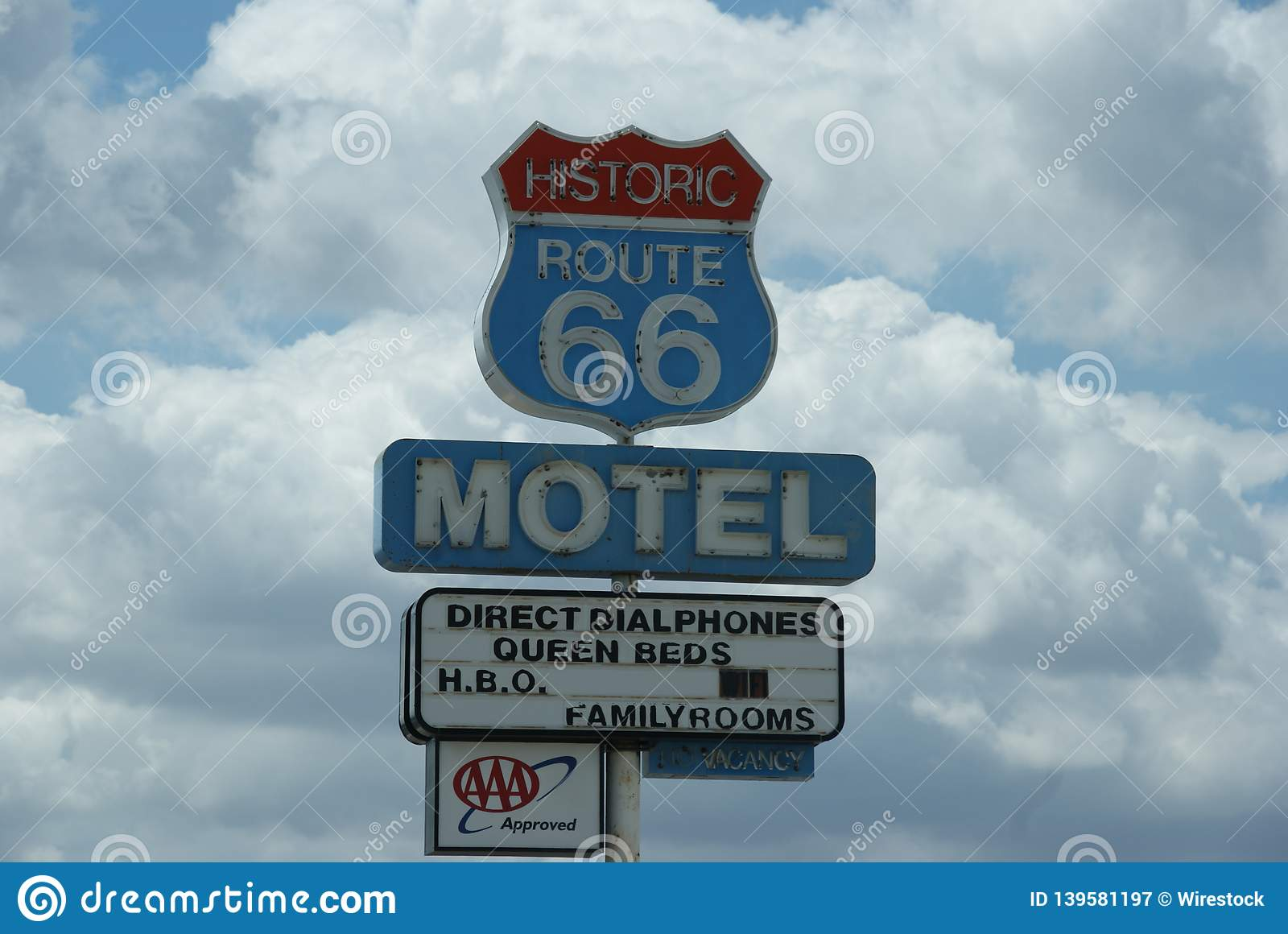 Historic Sign Route 66