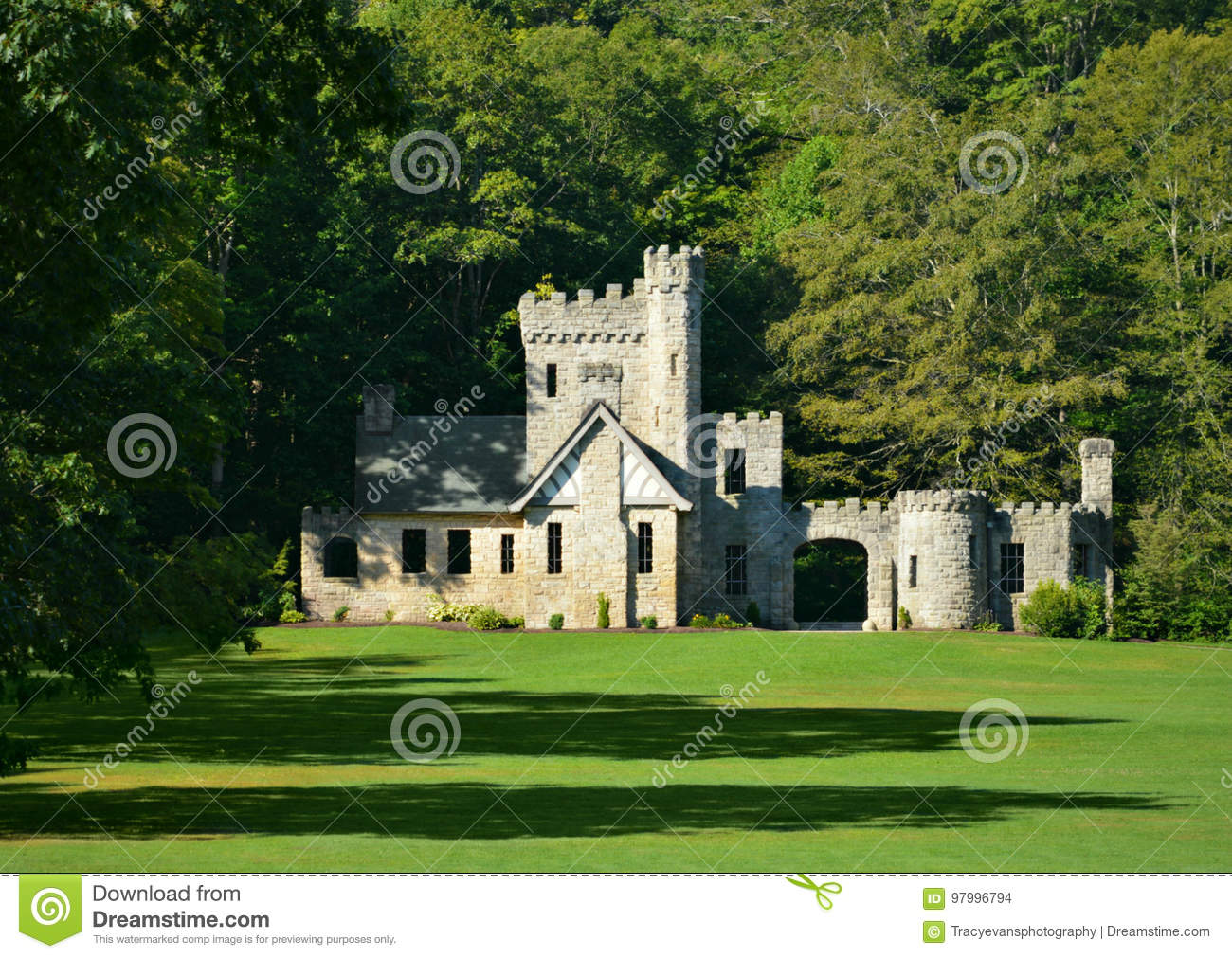 Historic Squires Castle Cleveland Metroparks Willoughby Hills Ohio