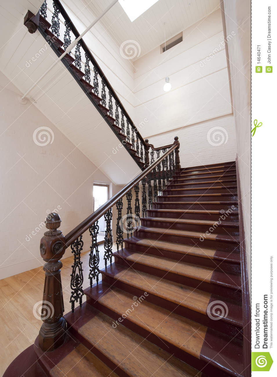 Historic Staircase Stock Image Image 14640471